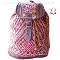 "Leather Backpack ""Badu"" Chocolate"