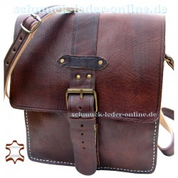 "Leather Bag ""Sevilla"" Brown"