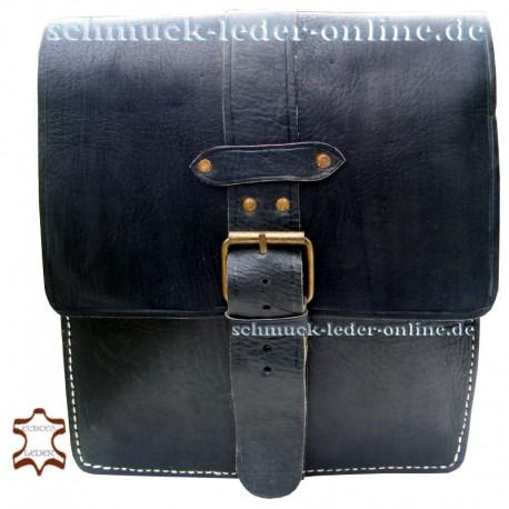 """Leather Bag """"Sevilla"""" Black"""