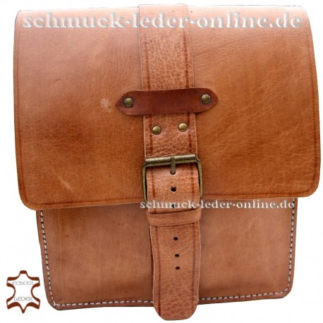 "Leather Bag ""Sevilla"" Natural"