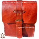 "Leather Bag ""Sevilla"" Fox Red"