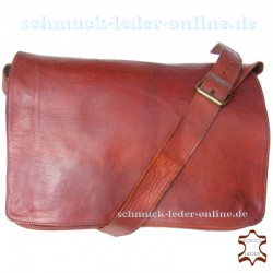 "Leather Bag ""London"" Fox Brown"