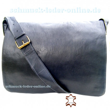 "Leather Bag ""Mt.Fuji"" Fox Brown"