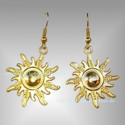 Golden ☼ Sun ☼ Earrings