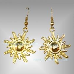 Goldene ☼ Sonne ☼ Ohrringe