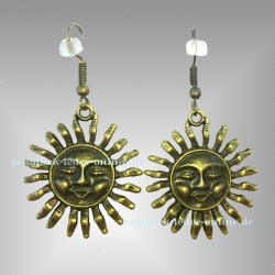 ☼ Antik Bronze Sun Earrings ☼