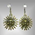 ✺ Bronzene Sonne Ohrringe ✺