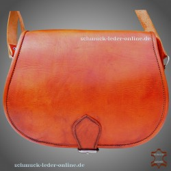 "Leather Bag ""Beatrice"" Fox Brown"
