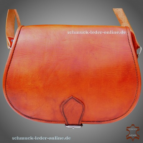 """Leather Bag """"Beatrice"""" Natural Beige Light brown"""