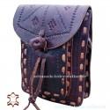 """Leather Bag """"Granada"""" Brown"""