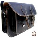 Black Leather Bag Steffi