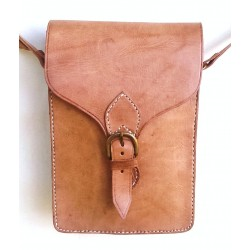 "Leather Bag ""Juan""  Brown"